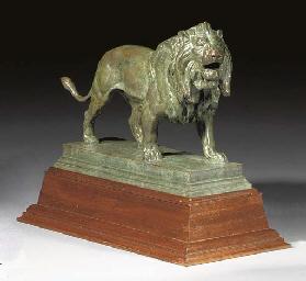 Lion marchant (Striding lion)