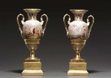 A PAIR OF VIENNA (SORGENTHAL)