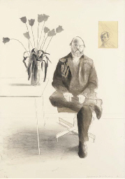 Henry Seated with Tulips (S.A.