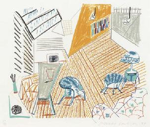 Pembroke Studio with Blue Chai