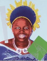 Queen Ntombi Twala of Swazilan