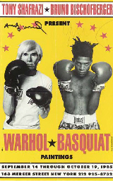 Poster for Warhol/Basquiat Pai