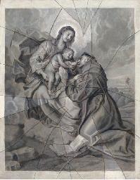 The Vision of Saint Antony: a
