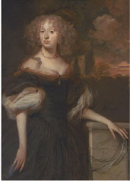 Portrait of a lady, standing t