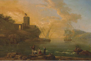A Mediterranean coastal inlet