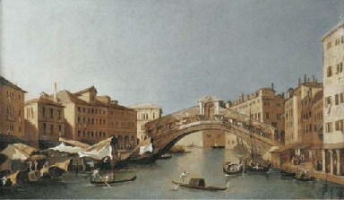 The Grand Canal, looking towar