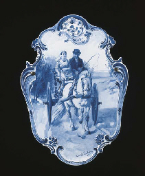 A Dutch Delft de Porceleyne Fl