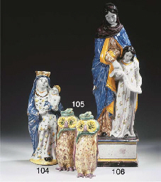 A Brussels faience polychrome