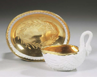 A Vienna Sorgenthal porcelain