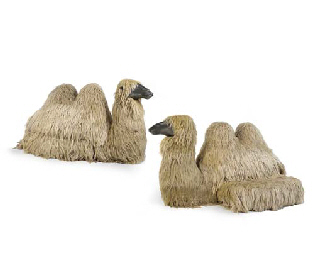 Camel Couches: A Pair