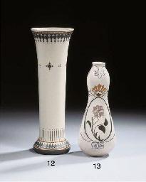 Model 103, a glazed pottery va