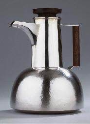 TW356, a silver coffeepot