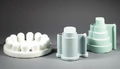 Indian Memories, three ceramic