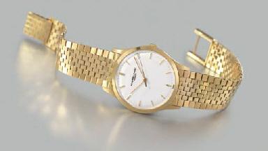 Audemars Piguet. An 18K gold w