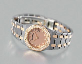Audemars Piguet. An 18K pink g