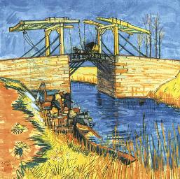 Le pont de Langlois à Arles