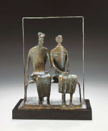 Maquette for King and Queen