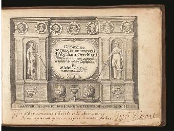 ORTELIUS, Abraham (1527-98).