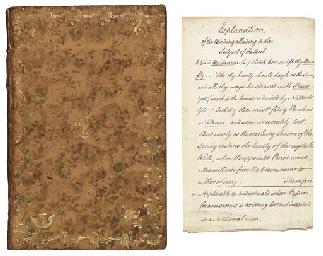 [HANWAY, Jonas (1712-1786)]. T