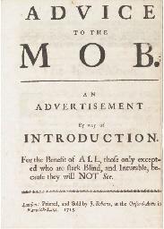 THE 1715 REBELLION -- Advice t
