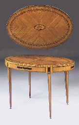 A DUTCH SATINWOOD, AMARANTH, H
