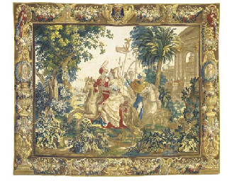 AN ANTWERP MYTHOLOGICAL TAPESTRY