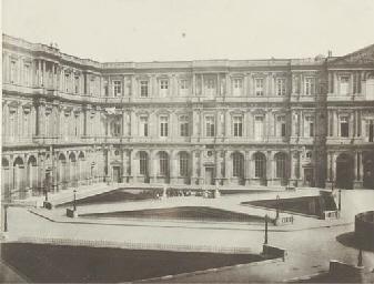 Intérieur de la Cour du Louvre