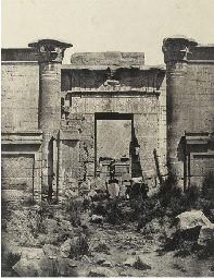 Thèbes, Medinet Habou, Propylé