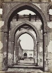 Intérieur de la Mosquée de Tou