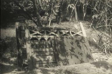 Wooden structure, Ceylon