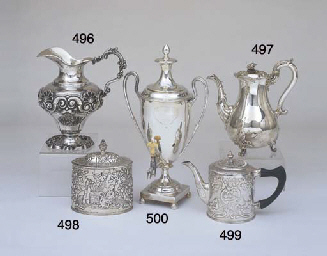 A WILLIAM IV STERLING SILVER C