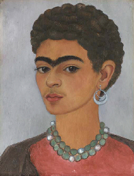 Self-Portrait with Curly Hair