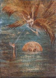 Figure in water