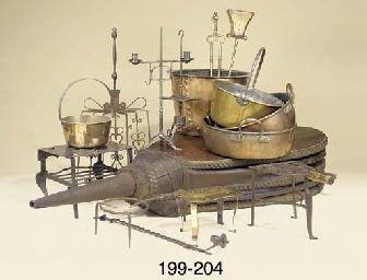 Two Victorian copper preservin