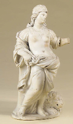 A Flemish carved marble allego