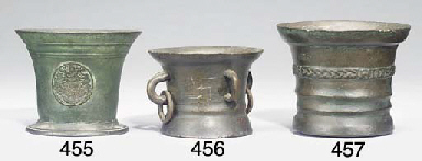 An English bronze mortar