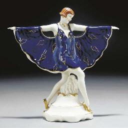 A Royal Dux porcelain figure