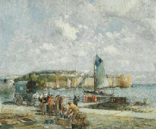 The Harbour at Concarneau