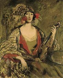 Portrait of Mrs Eve Fleming