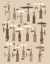 A narrow rack King's Screw