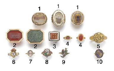 A heavy 16th century silver-gi