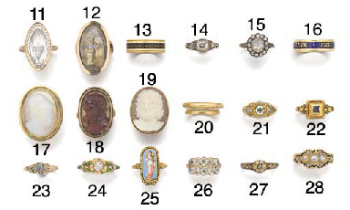A 19th century diamond ring in