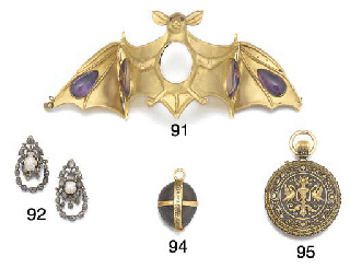 A 17th century gold-mounted 'm