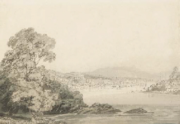An estuary, possibly Darmouth