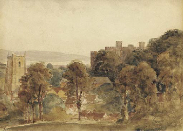 View of Ludlow Castle