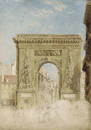 Porte Saint Denis, Paris