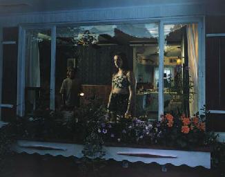 Untitled (girl on window)