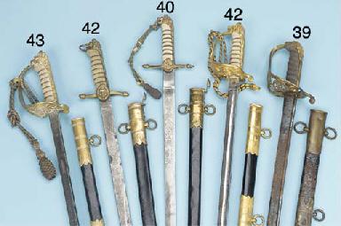 A ROYAL NAVAL OFFICER'S SWORD