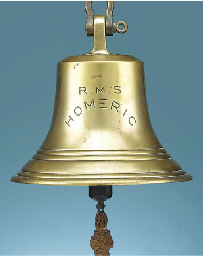 THE SHIP'S BELL FROM  THE WHIT