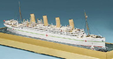 A WELL-PRESENTED 1:384 SCALE W